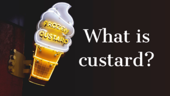 What is custard?